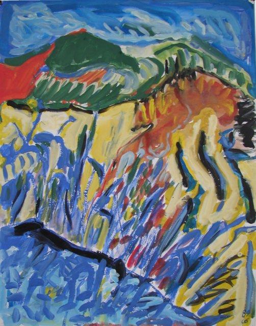 , 'Jardin d'Italie 10,' 1989, Galerie Marie-Robin