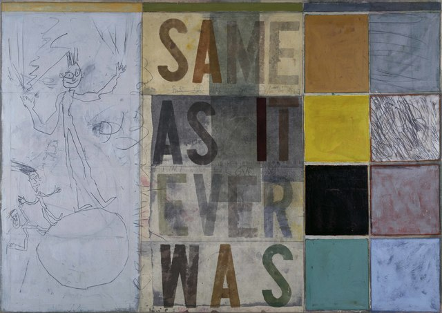 , 'Same As It Ever Was,' 1990, Portland Gallery
