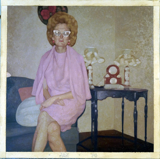 Colin Chillag, 'Being There Then (seated woman)', 2017, The Secret Gallery