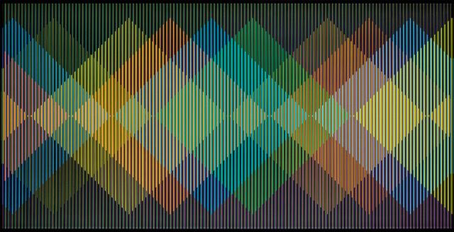 , 'Cromointerferencia Espacial 31,' 1964-2015, RGR+ART