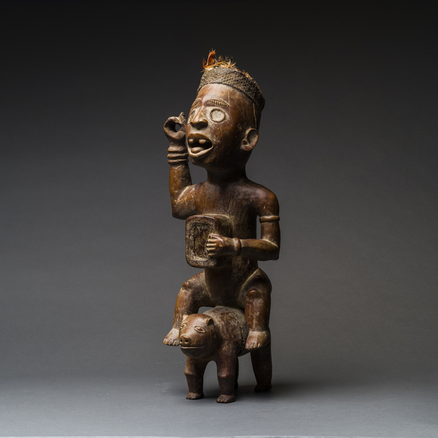 Unknown African, 'Kongo Wooden Nkisi Sculpture of a Rider', 20th Century, Barakat Gallery