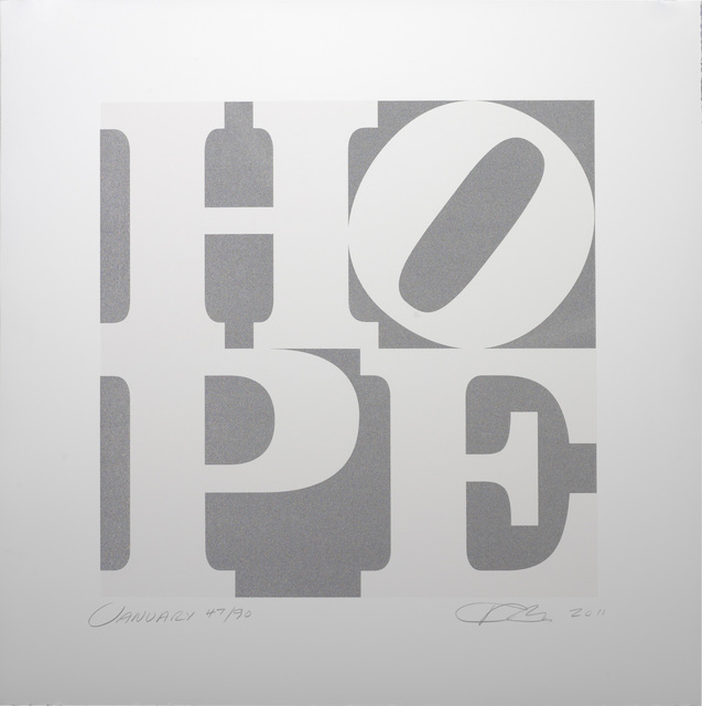 , 'HOPE January,' 2011, Contini Art Gallery