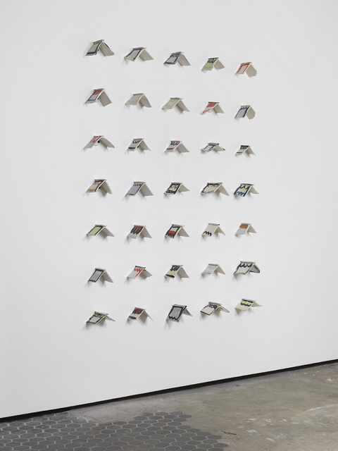 , 'V Perch Wall,' 2015, Ever Gold [Projects]
