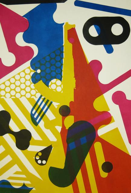 , 'Lady of geometric colour,' 2016, Kalashnikovv Gallery