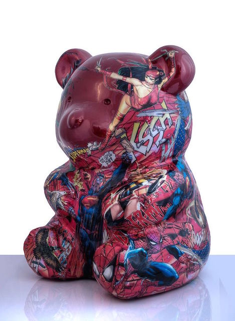 , 'Red Nounours,' 2016, ARTION GALLERIES