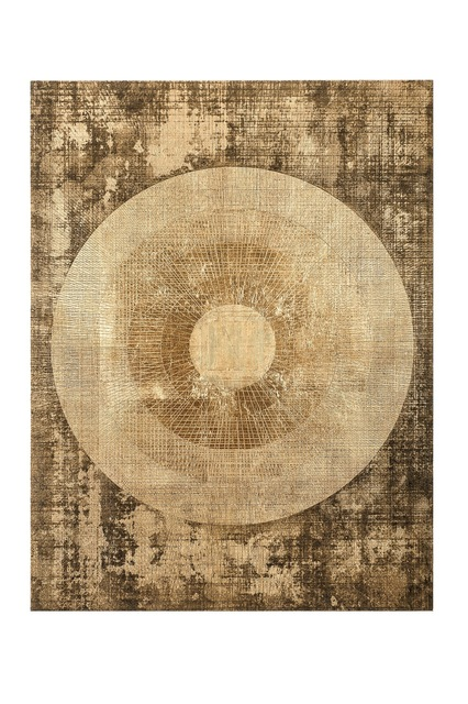 , 'Brodgar in Gold & Black,' 2014, Dillon + Lee