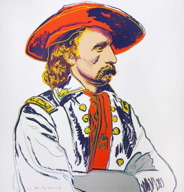 , 'Andy Warhol, General Custer, 1986,' 1986, Shapero Modern