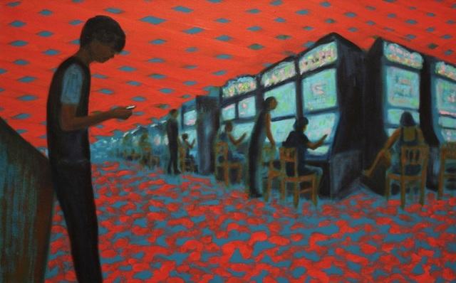 Jane Dickson, 'Gameboy III', 2010, James Fuentes