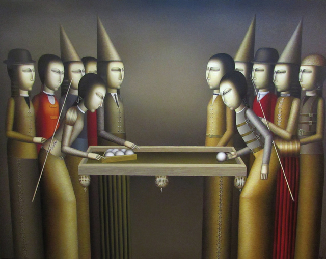 "Armen Gevorgian, '""Game"" / ""Oyun""', 2015, Galeri 77"