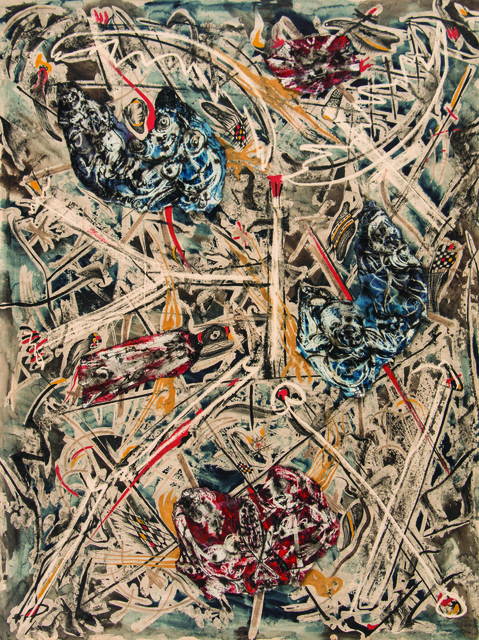 , '3 Piece Collage,' ca. 1954 -1964, Ayala Museum