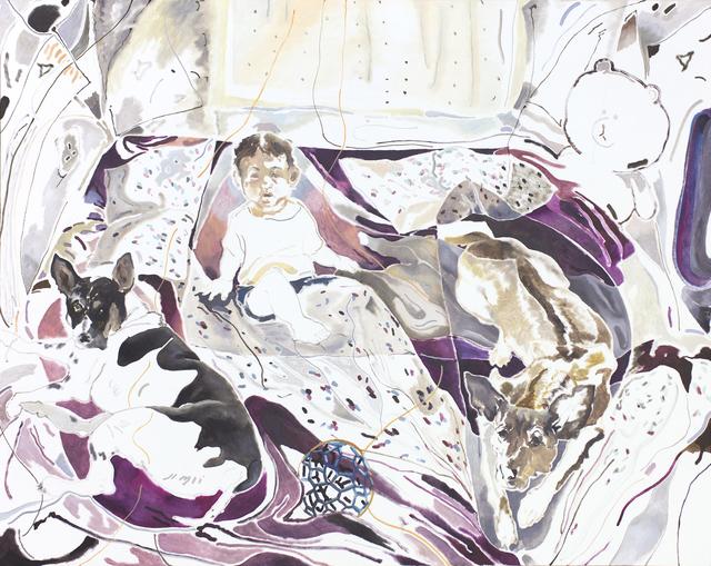 , 'Balltsz, Joel and Muimui,' 2018, Pilar Corrias Gallery