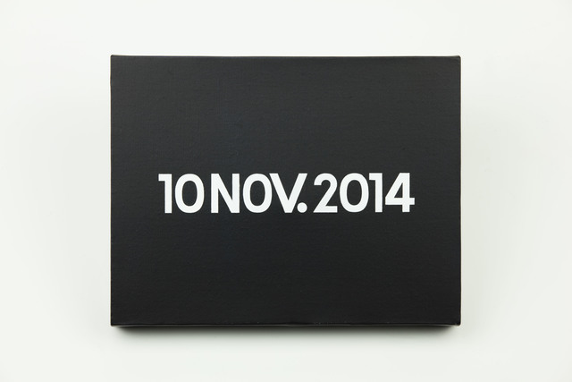 , 'On Kawara, Today series, 10NOV. 2014,' 2014, MadeIn Gallery