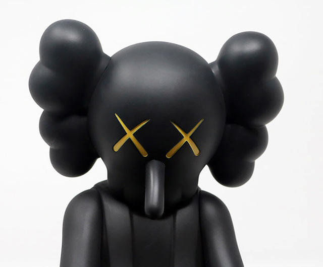 KAWS, 'KAWS Small Lie Black', 2017, Lot 180