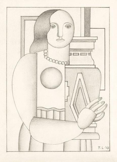 , 'Femme au vase,' 1927, Galerie Thomas