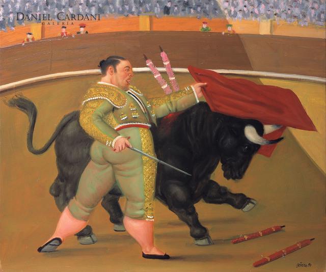 Fernando Botero, 'Pase de pecho', 1991, Galería Daniel Cardani