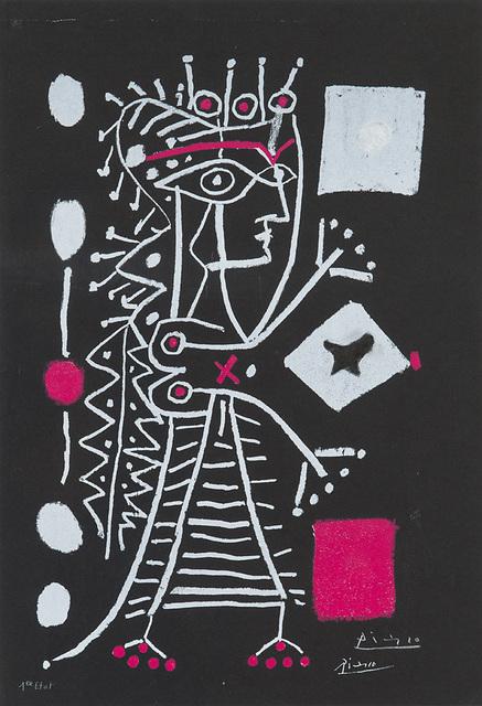 , 'La Dame Aux Dés (Jacqueline),' 1958, Larsen Gallery