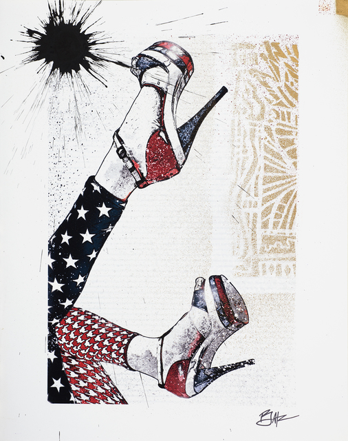, 'I F*ucking Love the U.S.A,' 2013, DETOUR Gallery