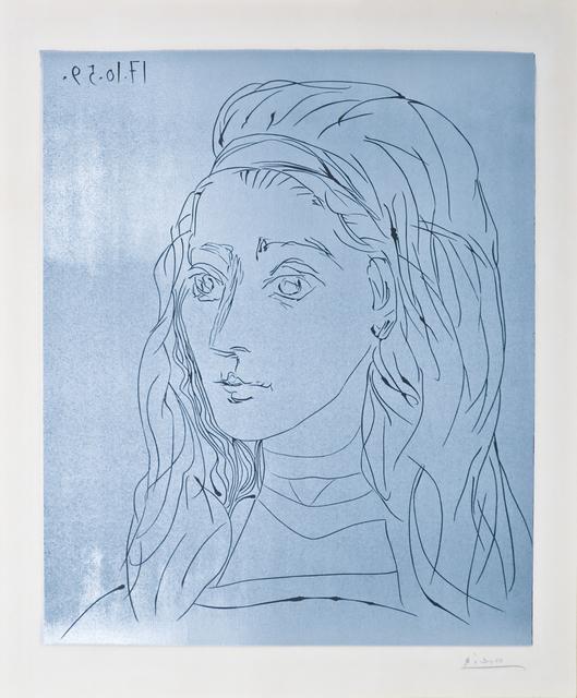 , 'Portrait de Jacqueline,' 1959, John Szoke