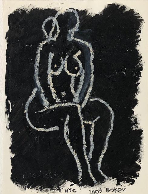 , 'Sitting Nude,' 2009, Van Der Plas Gallery