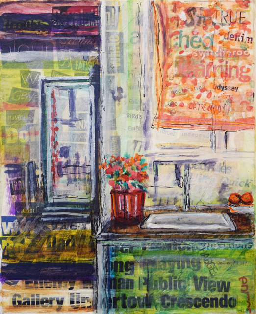 , 'Public View Kitchen,' 2017, Fountain House Gallery