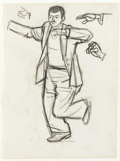 , 'Dancer V,' ca. 1960, Osborne Samuel