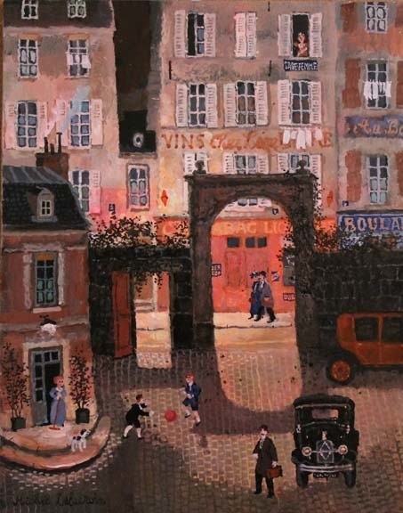 , 'Cour rue de la Croix-Nivert,' , Hugo Galerie