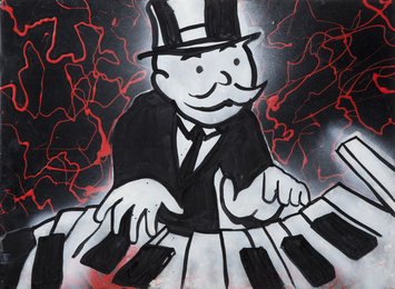 Monopoly Man Piano