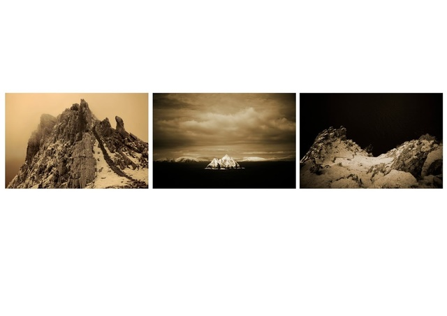 , 'The Floating World – Skellig Triptych,' 2013, Anita Beckers