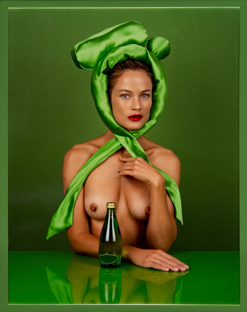 , 'Woman (Green Bow),' 2012, Cortesi Gallery