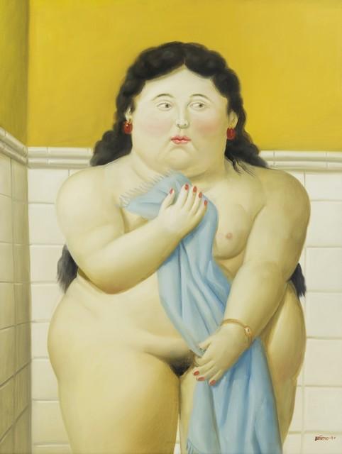 , 'Woman in the Bathroom,' 2001, Galerie Thomas