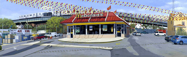 , 'McDonald's, East Tremont Ave, Bronx,' 2014, Lyons Wier Gallery