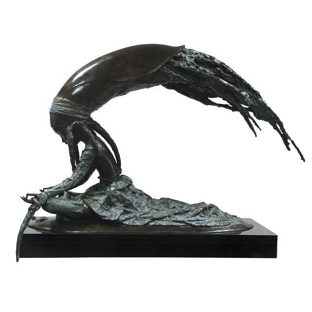 Andrey Ostashov, 'Sea Inside', 2013, Sculpture, Bronze, Granite,  OSTASHOV sculpture