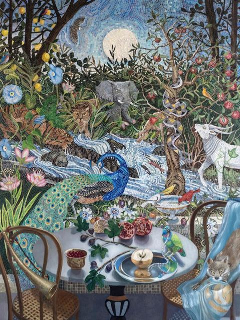 Barbara Kassel, 'Nightfall in the Garden', 2018, Clark Gallery