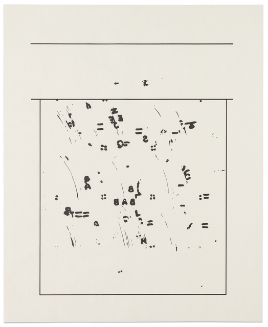 , 'SEVEN OF EIGHT: gaining. Whiteness,' 1998, Reynolds Gallery