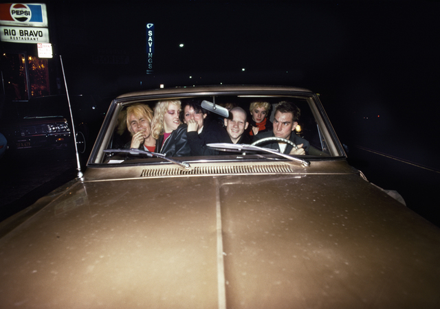 , 'Friends in gold car,' 1978, Casemore Kirkeby