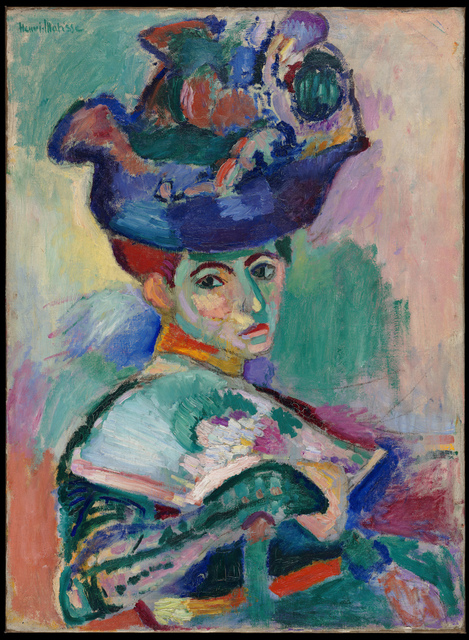 Henri Matisse, 'Femme au chapeau (Woman with a Hat)', 1905, Painting, Oil on canvas, San Francisco Museum of Modern Art (SFMOMA)