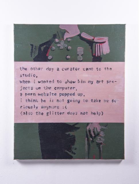 , 'Ticket 3,' 2017, Hans & Fritz Contemporary
