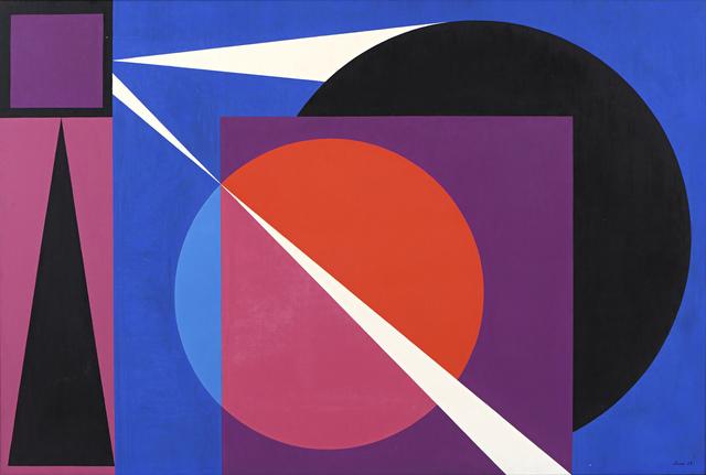 , 'Symphonique,' 1963, Connaught Brown