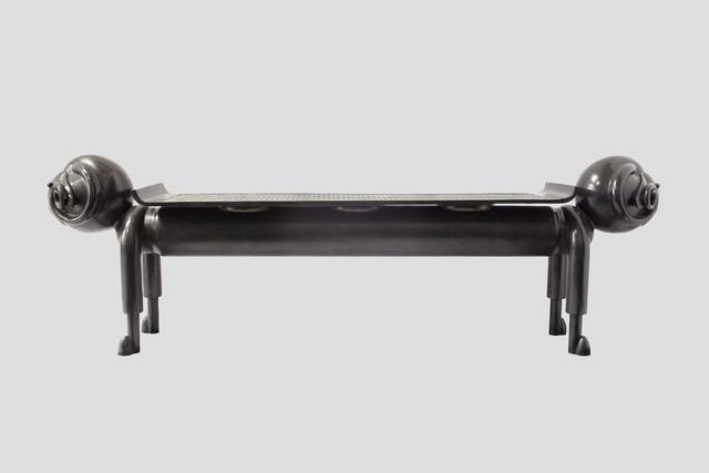 """, '""""Ram"""" Bench ,' 2015, Galerie Dumonteil"""