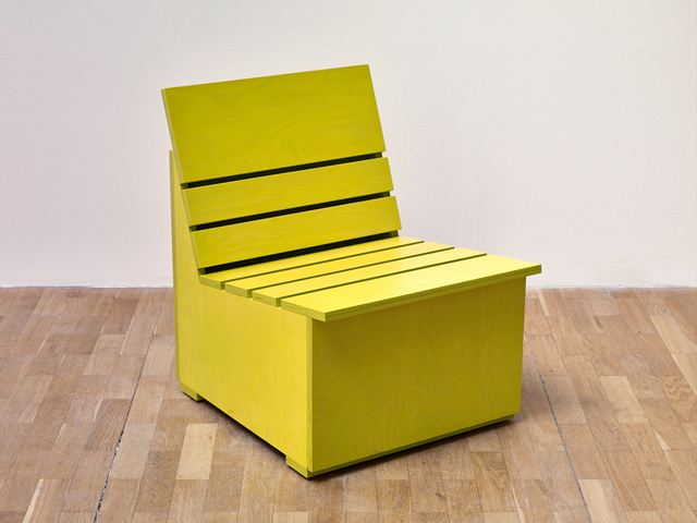 , 'Sunny Chair for Whitechapel (2016) (Chartreuse),' 2016, Whitechapel Gallery