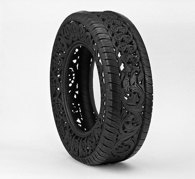Wim Delvoye, 'Untitled (car tire),' 2011, Rodolphe Janssen