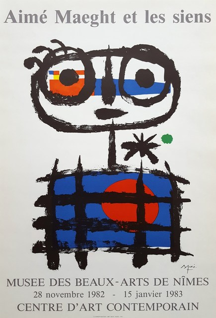 Joan Miró, 'Aime Maeght et les Siens (Sun Eater)', 1982, Graves International Art