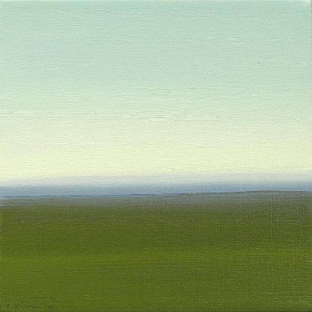 Lisa Grossman, 'Horizon - Green 3', 2014, Haw Contemporary