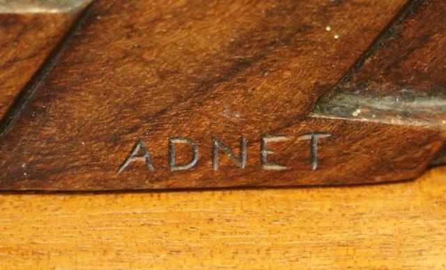 Jacques Adnet, ''Gazelle' rosewood Art Deco sculpture, by Jacques Adnet', 1926, Sculpture, Wood, Avant-Garde Gallery
