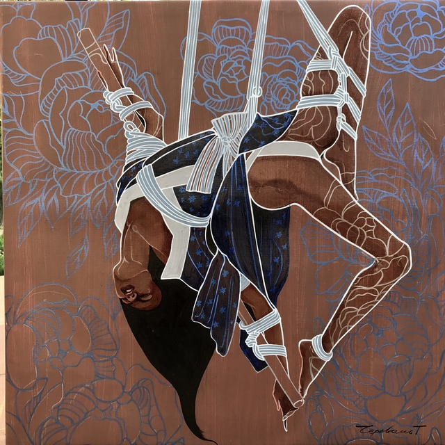 Tetiana Cherevan, 'Knot play', 2018, Recreational Enterprises & Perseus Gallery