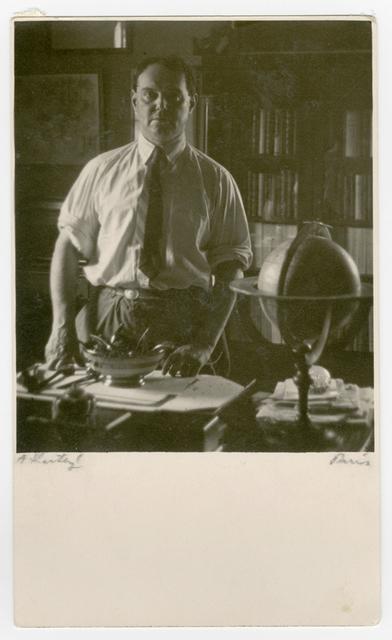 André Kertész, 'Pierre MacOrlan', ca. 1927, James Hyman Gallery