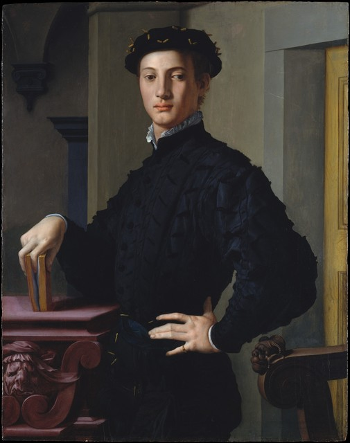 Agnolo Bronzino, 'Portrait of a Young Man', ca. 1530-1539, The Metropolitan Museum of Art