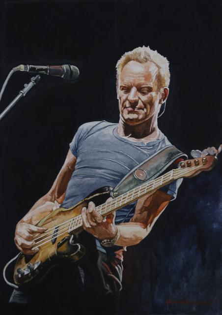 , 'Old guitar,' 2018, Best Art Gallery