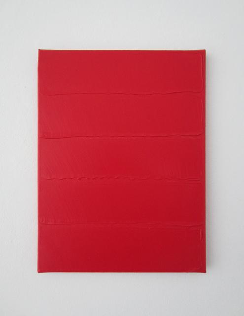 , 'Rouge horizontal,' 2014, Galerie Jean Brolly