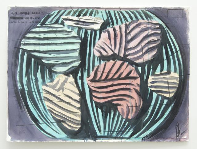 , 'Mapa Mundi Arado,' 2016, Galeria Nara Roesler
